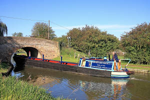NB Stanton, Grand Union Canal